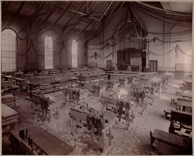 ... -working room, Dahlgren Hall, South Boston. | Flickr - Photo Sharing