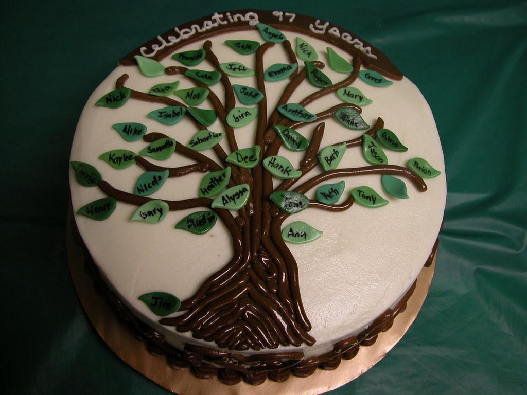 Family Tree Cake 2