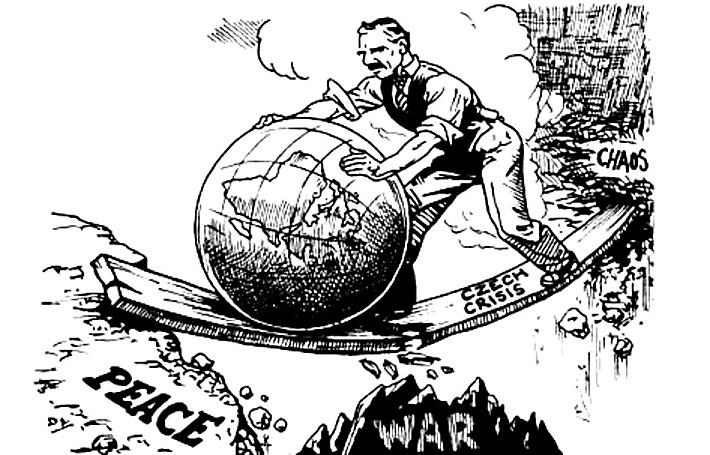 Chamberlain War Cartoons 2 World Political