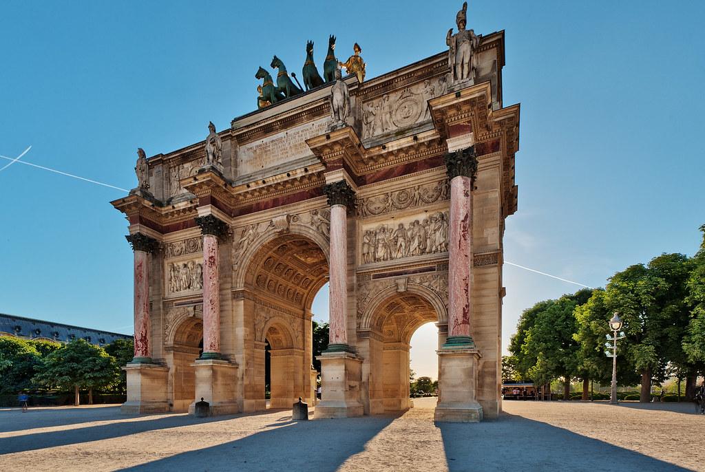 Arc L Triomphe Map De
