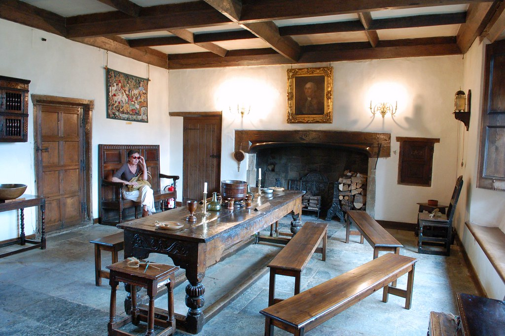 Sulgrave Manor Great Hall The Great Hall Has A Stone