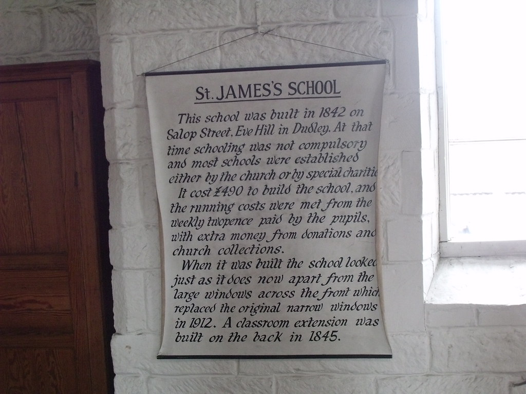 Black Country Living Museum - St James's School - historic… | Flickr