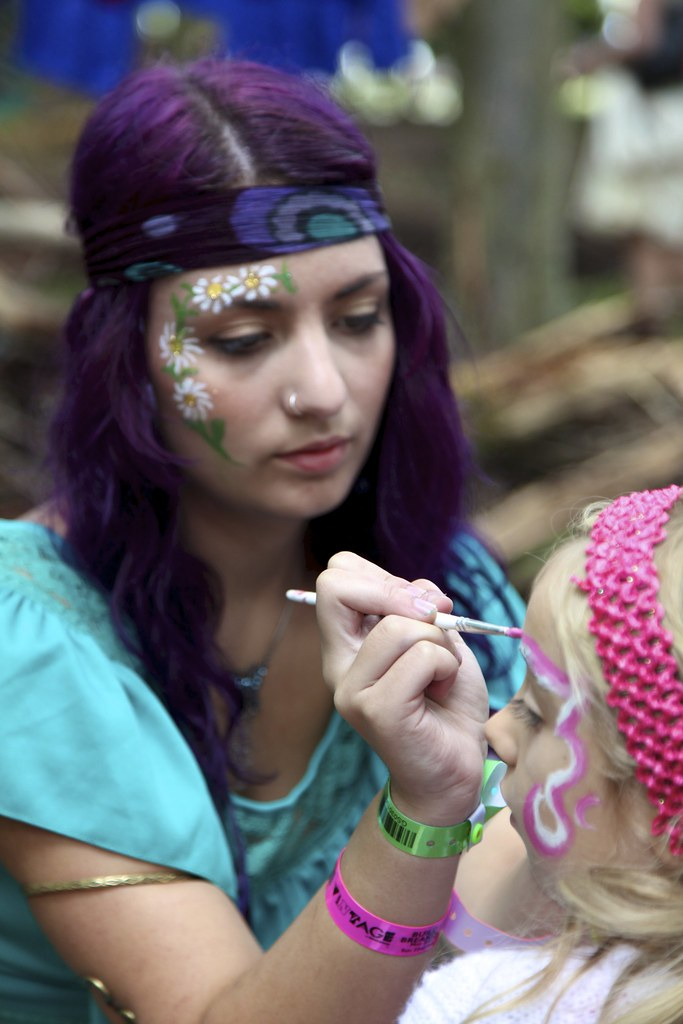Hippie Face Painting Ideas Novocom Top