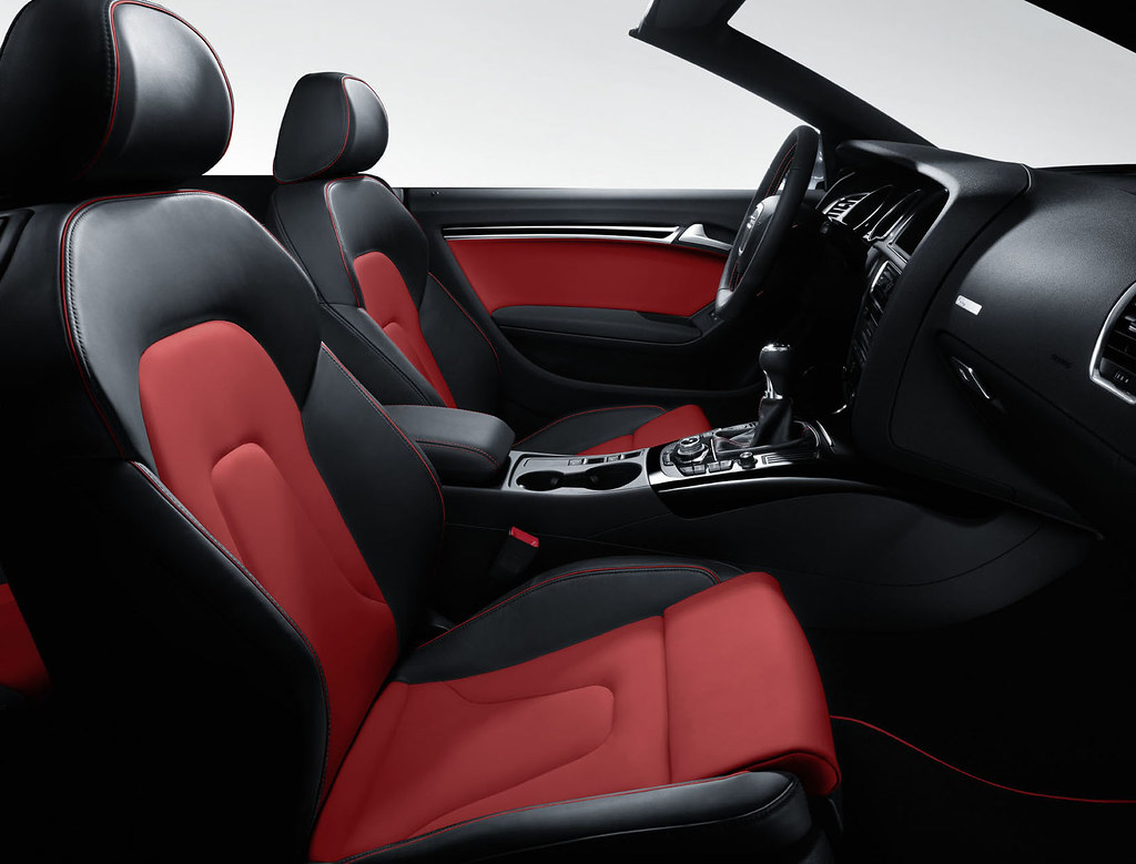 New Audi A5 BlackRed Interior Wwwm25audicoukaudia5