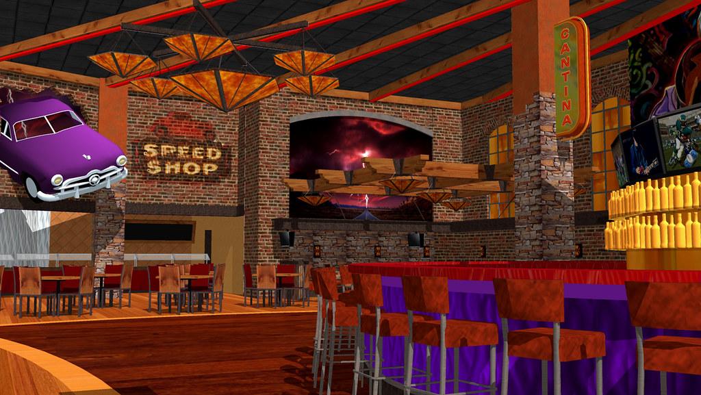 Bar Restaurant Interior Design