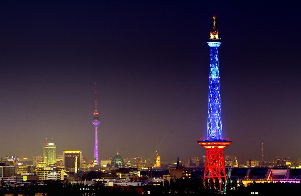 Fol 2011 Festival Of Lights Berlin Funkturm Here You
