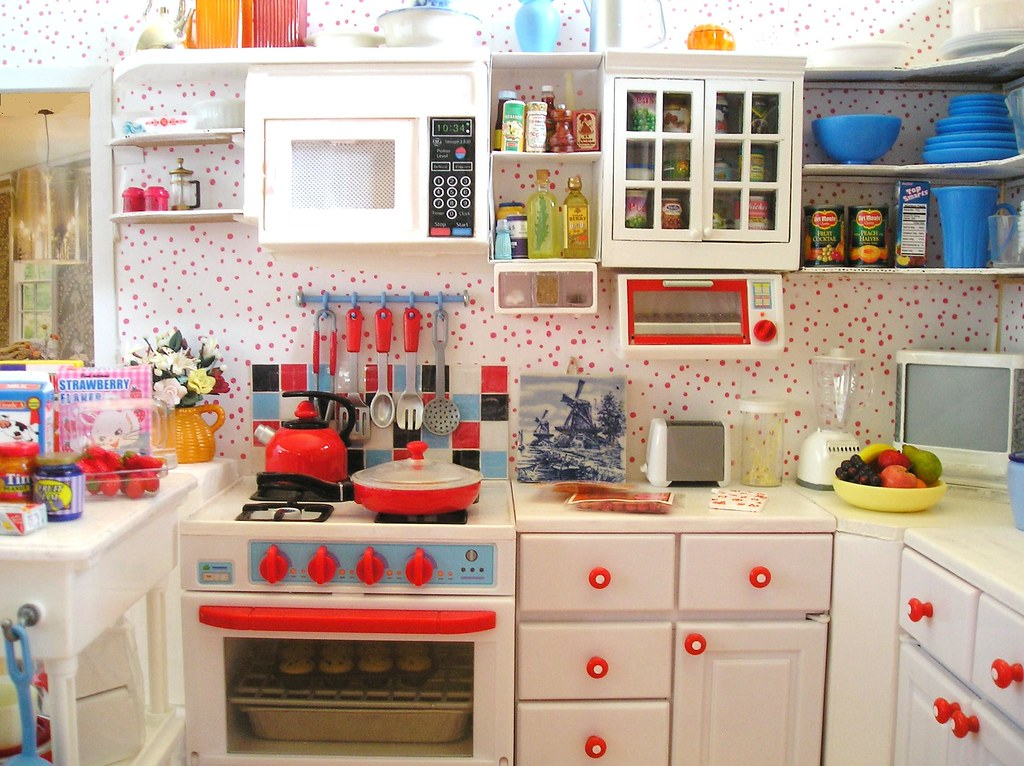 Barbie Kitchen Mock Up 1st Round Another Old Pic From