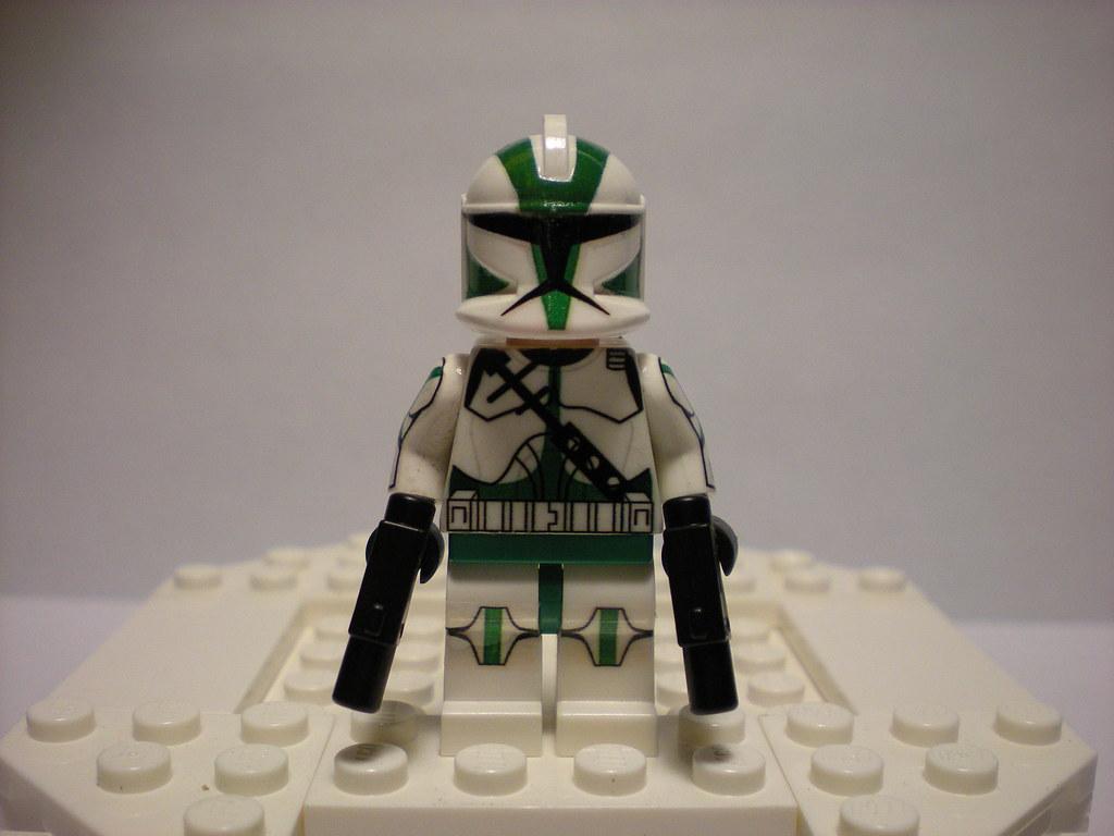 Lego Custom Clone Commander Gree Home Made Decal Design