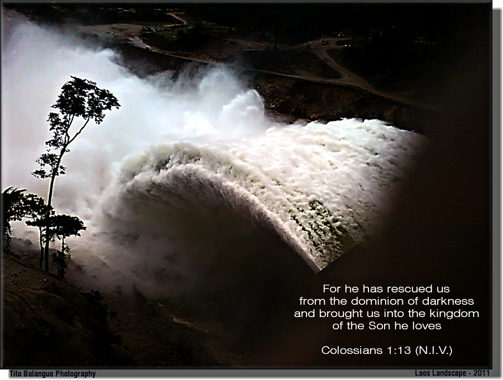Colossians 113 For He Has Rescued Us From The Dominion