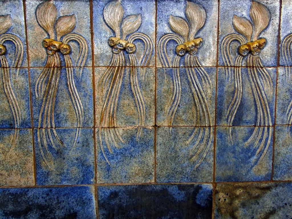 Frise Murale De La Villa Majorelle Frise Murale En Grs