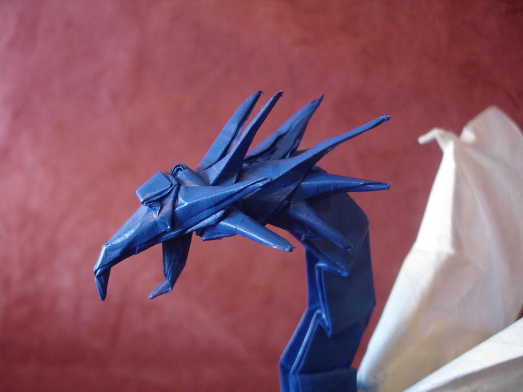 3d Origami Dragon Head Diagram