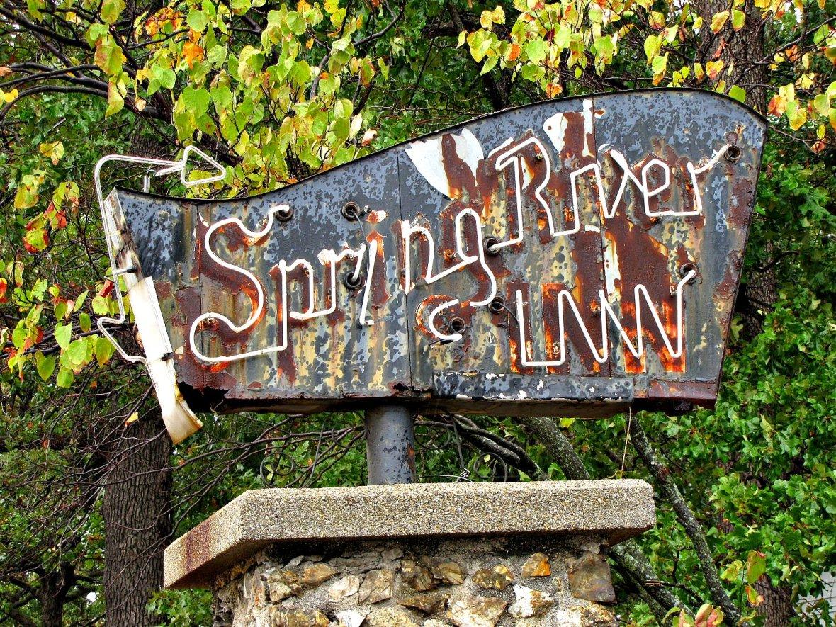 Spring River Inn - Riverton, Kansas U.S.A. - September 14, 2011