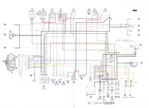 200001 Ducati Monster 900 ie Electrical wiring Diagram