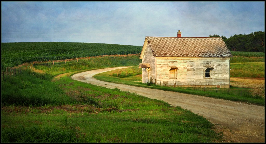 Country Schoolhouse An Old Country Schoolhouse Used As A