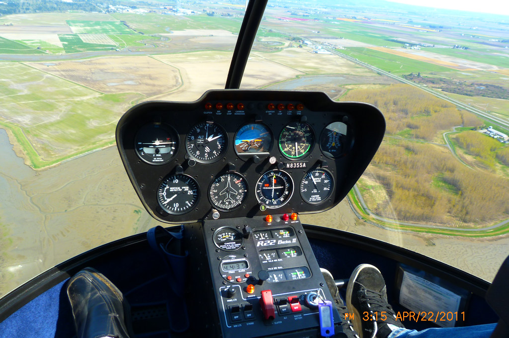 Here S A R22 Cockpit Flying Over Padilla Bay S Southern Sh