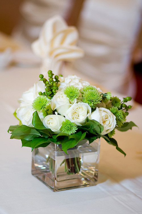 Small Wedding Table Centerpieces