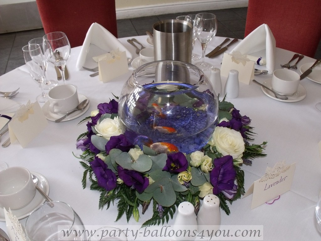 Wedding Gold Fish For Hire What A Different To Your