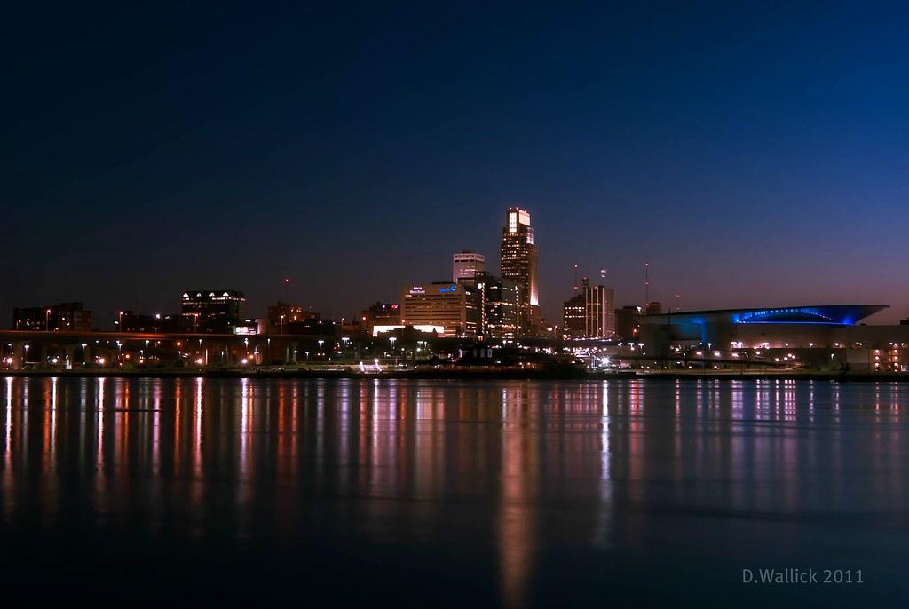 Omaha Nebraska Skyline Similar To My Previous Shot But