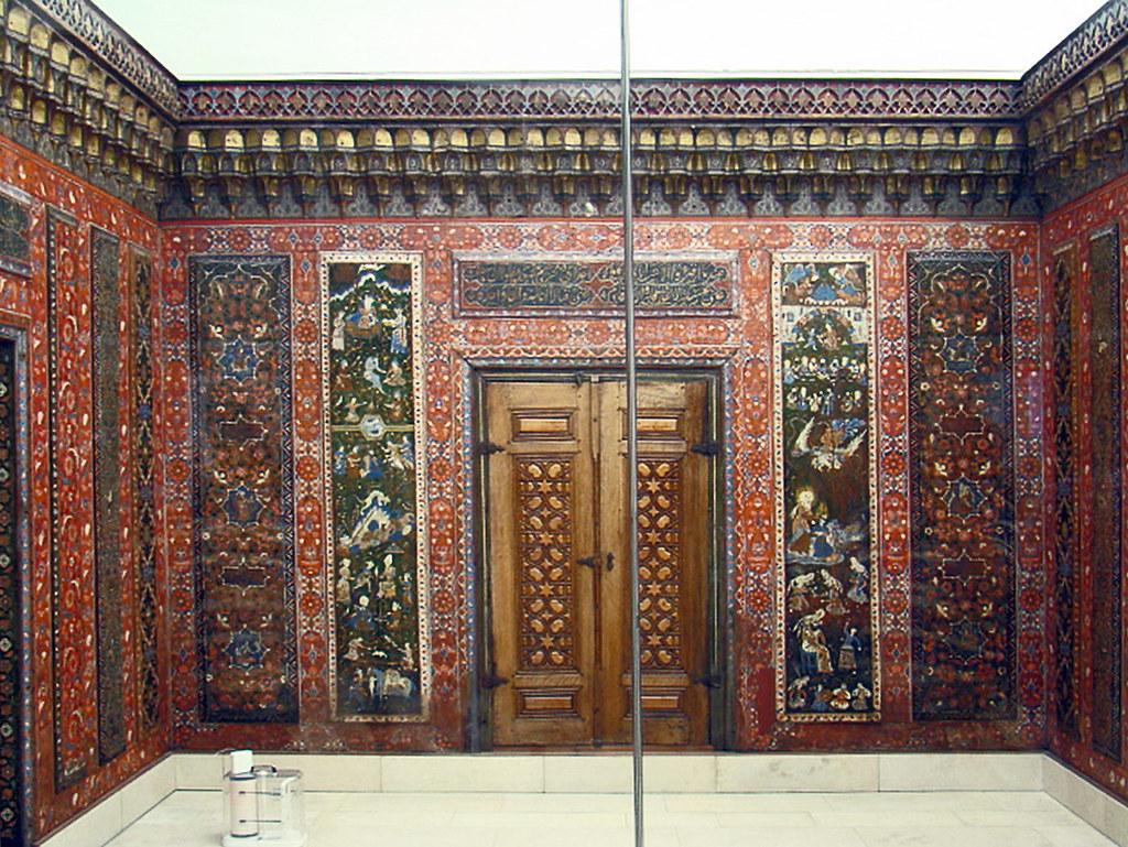 Sala de Aleppo Museo Pergamo arte islamico Berlin Alemania 01
