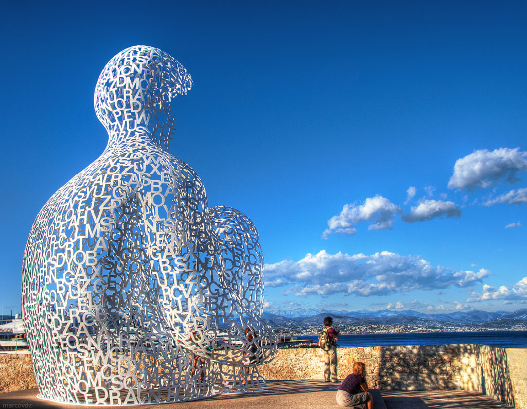 Nomade Nomade By Jaume Plensa Antibes Marcovdz Flickr