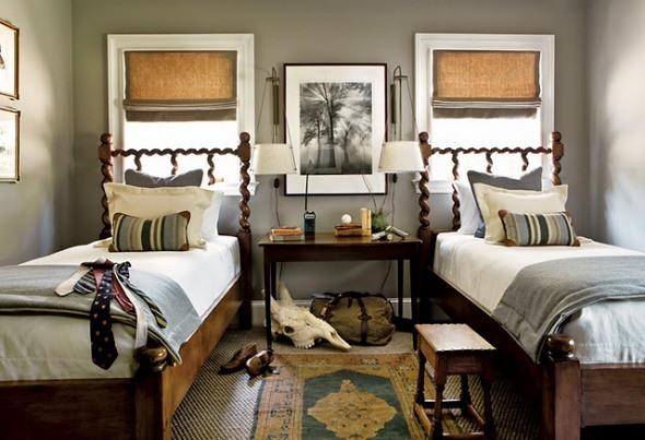 Pretty Perfect Gray Bedroom: Benjamin Moore 'Rockport Gray