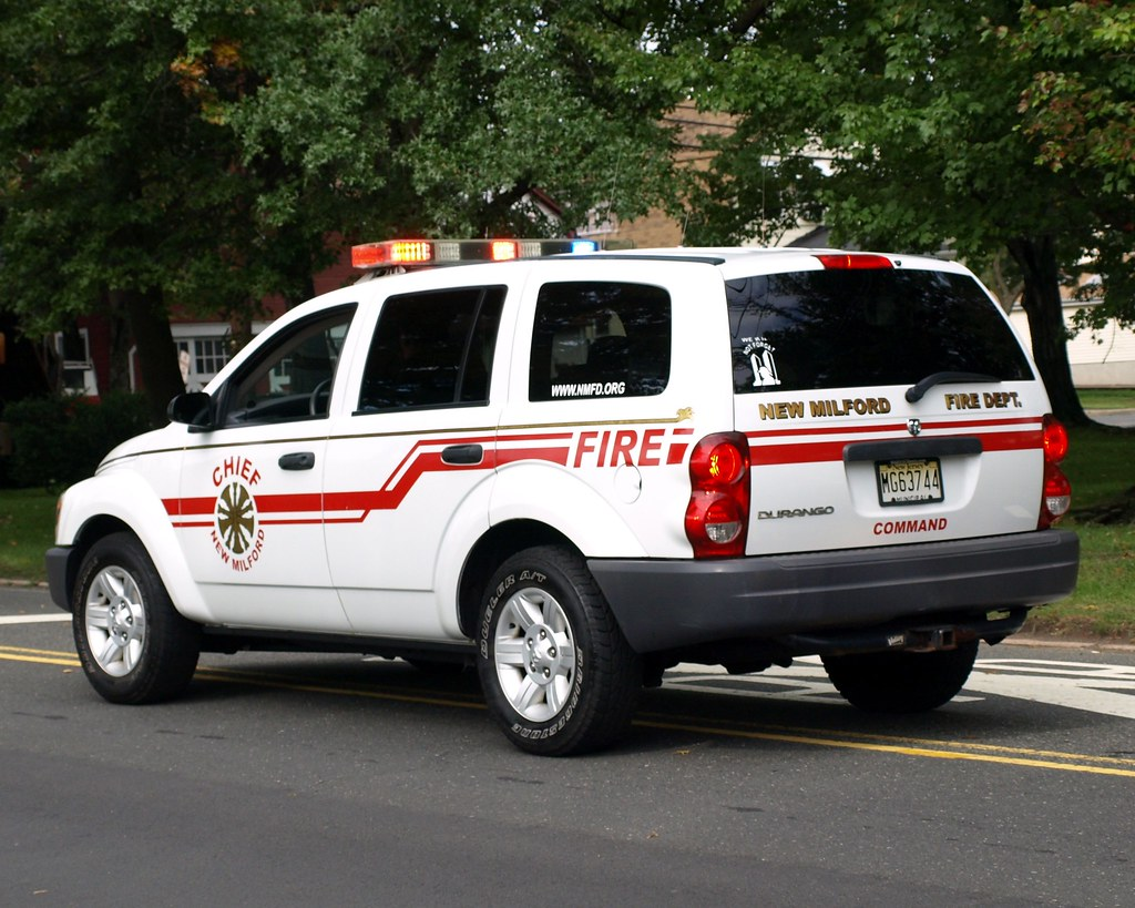 Fire Chief Command Vehicle New Milford Fire Department N