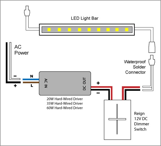 Reign 12v Led Dimmer Switch Wiring Diagrams