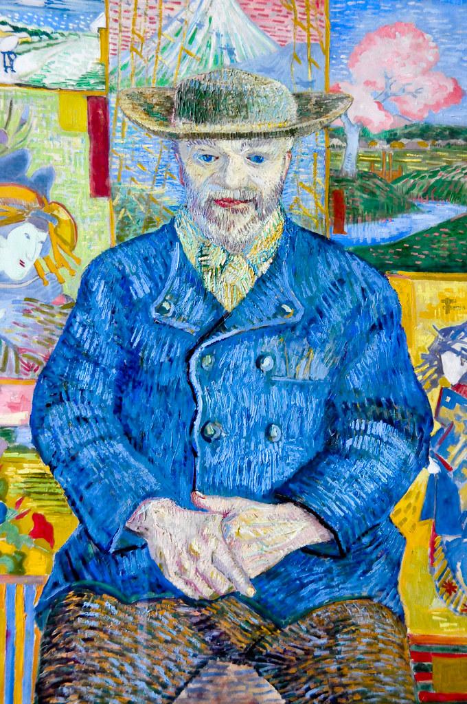 Vincent Van Gogh Pere Tanguy 1887 At Muse Rodin Paris