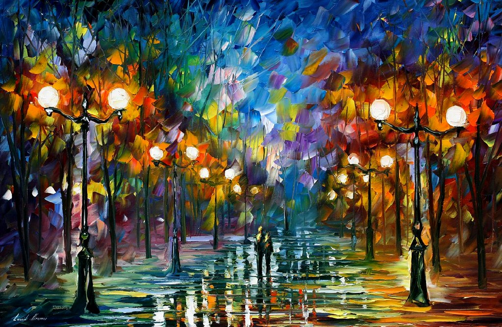 1640 36x24 END OF WINTER Oil Painting By Leonid Afremov