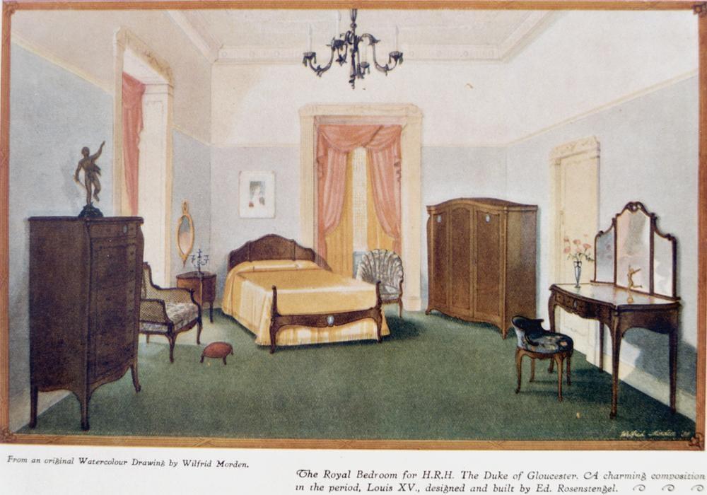Furniture For HRH The Duke Of Gloucester Built By Ed R