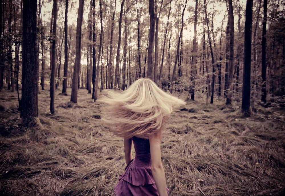 Forest Amp A Girl Model Anja Mehr Bilder Gibt Es Unter
