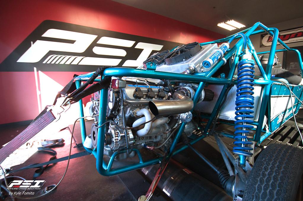 Honda V6 Turbo Sandrail On The Dyno At Psi 002