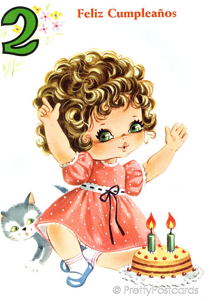 Card 7 Years Old Girl