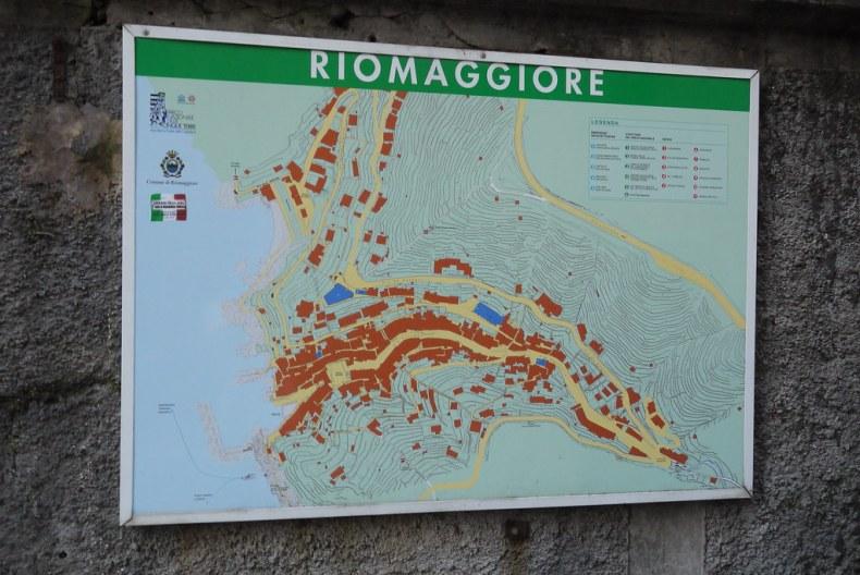 Map of Riomaggiore