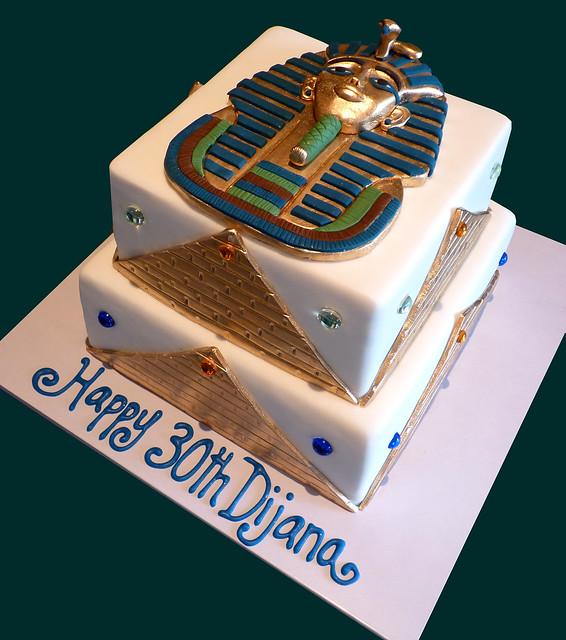 Tutankhamun Egyptian Cake Flickr Photo Sharing