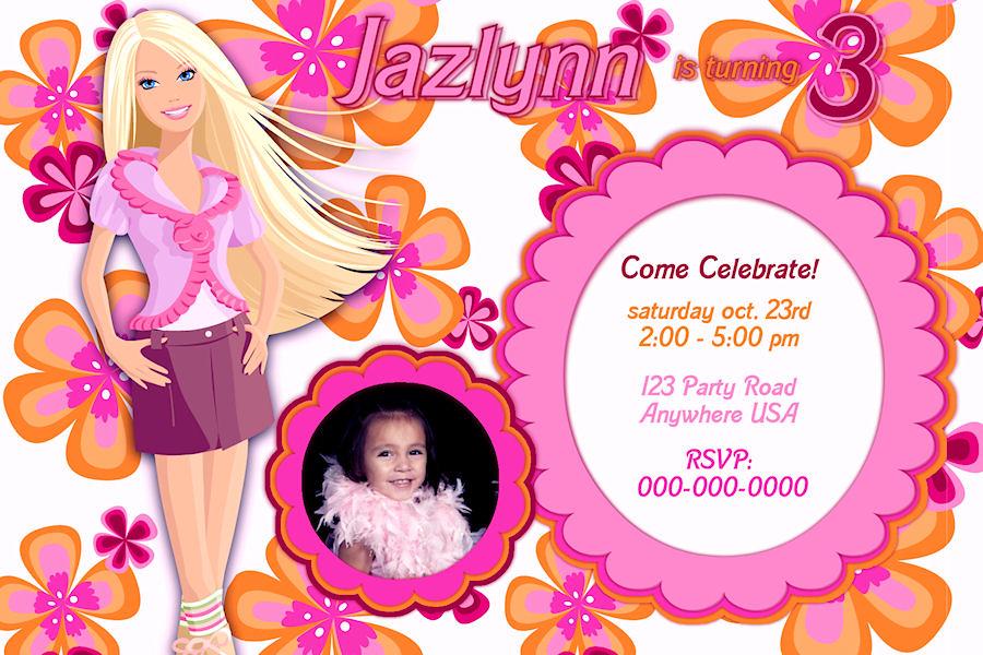 Custom Design Baby Shower Invitations