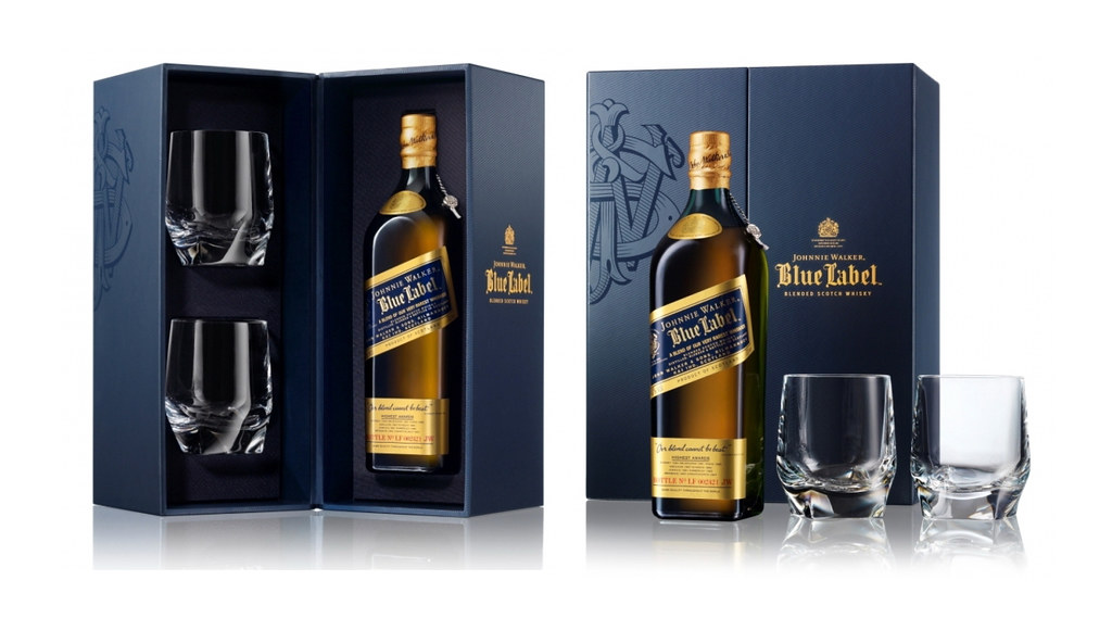 Johnnie Walker Blue Label Fathers Day Package Design