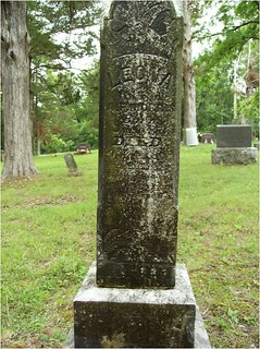 Tombstone Before Chalking