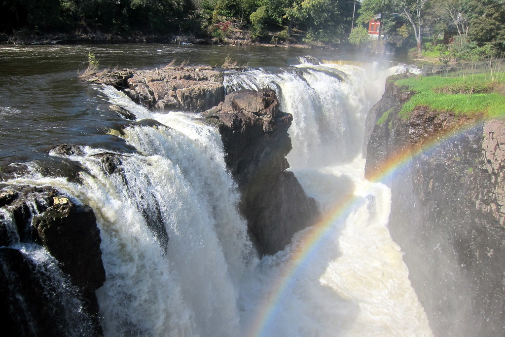 Nj Paterson The Great Falls Of The Passaic The Great