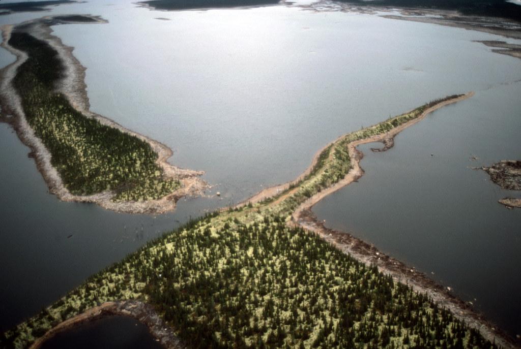 Esker Labrador Canada 1985 Spent A Few Summers Doing