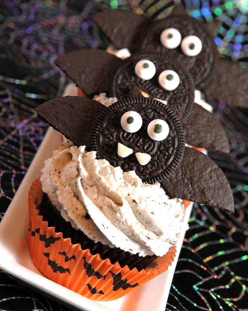 Cookies N Cream Bat Cupcakes Oreo Chocolate Cupcakes