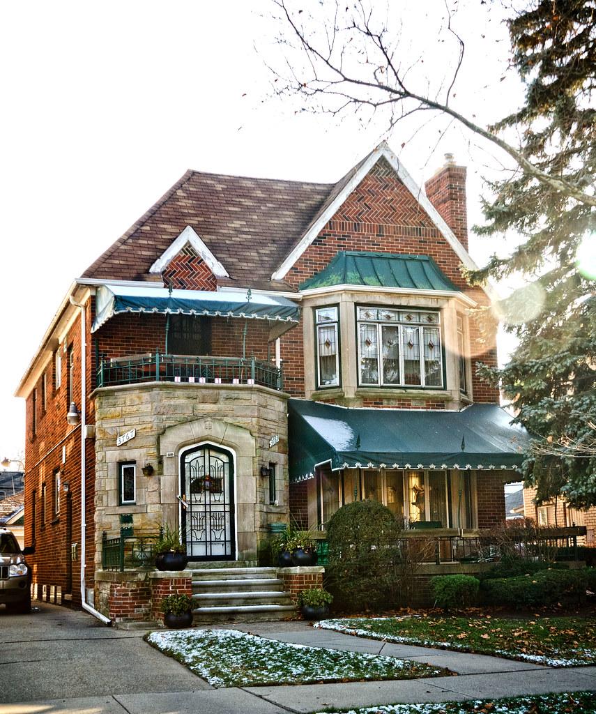 Florence Ballards Home  Buena Vista Detroit Mi By Doug Coombe
