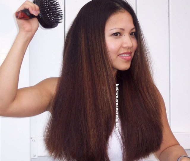 Thick Asian Hair Brushing By Longhairfish