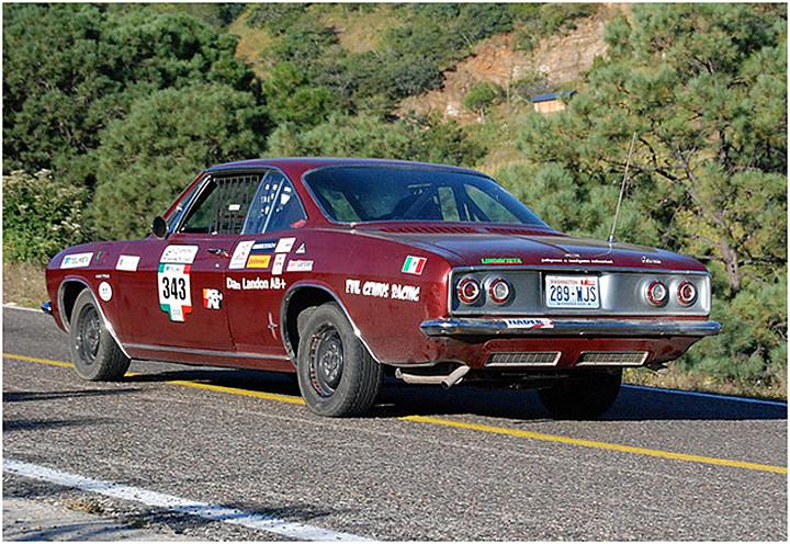 Prototype 1965 Corsa Corvairs Racing