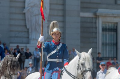 Madrid Spain changing of the Royal guard