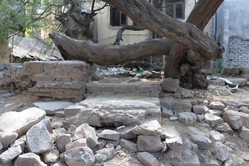 City Monument - Anonymous Ruin, Mehrauli
