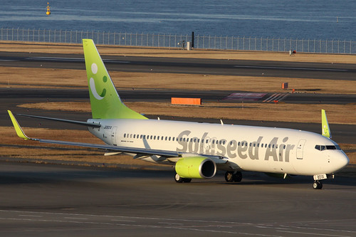 Solaseed Air B737-800(JA801X)