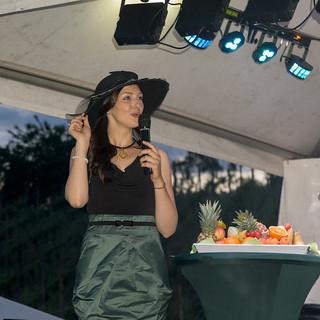 Sächsische Weinkönigin Daniela Undeutsch