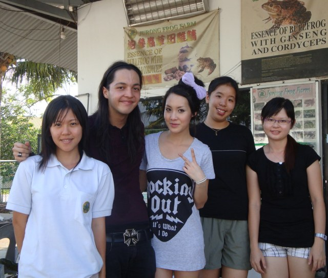 Paul Twohill And Kaykay From Chick Vs Dick By Jurong Frog Farm