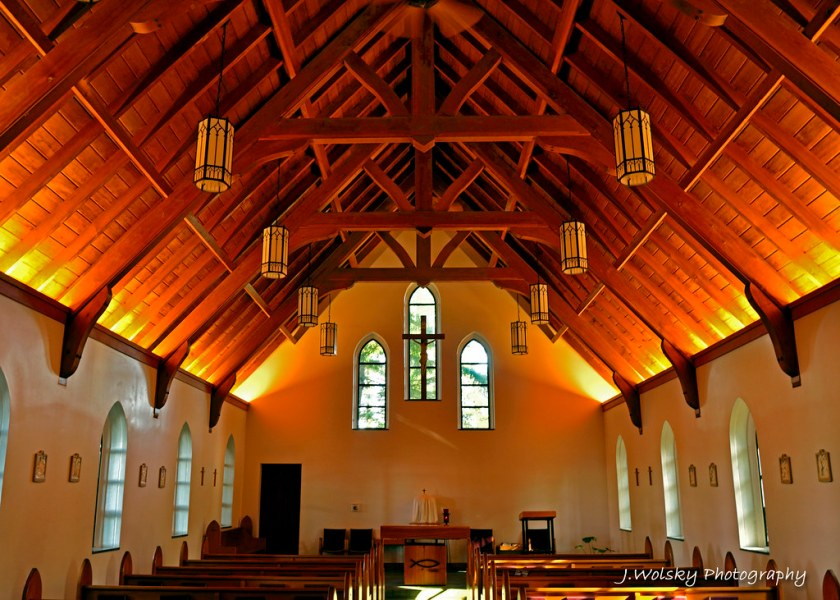 The interior of the Shrine to St  Therese in Juneau  Alask      Flickr     The interior of the Shrine to St  Therese in Juneau  Alaska   by Jason